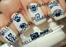 Penn State University Nittany Lions Logos》10 Different Designs》Nail Art Decals
