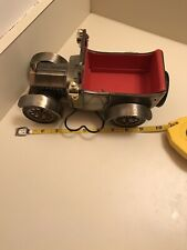 vintage Fred Roberts 1918 Ford Model T (Japan) metal toy car w/windup music box