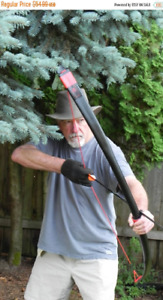 """Archery Long Bow 40 lb@ 28"""" Draw """"The SPIDER""""  FREE SHIPPING"""