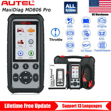 Autel MaxiDiag MD806 Pro OBD2 Automotive Diagnostic Scan Tool All System Engine