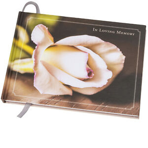 """Funeral Guest Book 9""""x7"""""""