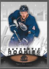 10/11 SP Game Used Rookie RC Taylor Hall /99 200 Oilers