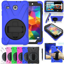 For Samsung Galaxy Tab 7.0/8.0/10.1/10.5 in Hand Strap Rugged Hybrid Case Cover