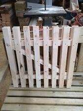 Puerta de jardín de madera estaquilla 60cmx de alta calidad 60cm-Plus Gratis de hardware