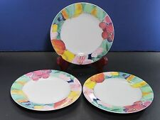 "Mikasa Maxima Super Strong China Exotic Garden Bread Plates 6.5"" X 3"