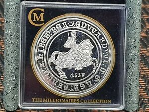 Millionaires Collection Edward VI Silver Proof Crown Coin Hallmarked