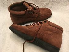 Women's Leathercraft By Fashion Tradition Suede Leather Boots/Shoes Size 9