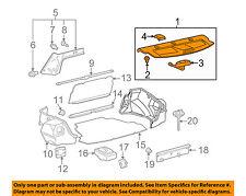 TOYOTA OEM 03-08 Corolla INTERIOR-REAR BODY-Pkg tray trim 6433002331E0