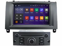 Android 8.1 Car DVD GPS Navigation Wifi Radio Stereo For Peugeot 407 2004-2010