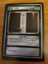 Star Trek CCG Q-Continuum Barber Pole NrMint-Mint TCG