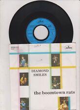 "7 ""  The Boomtown Rats - diamond smiles"