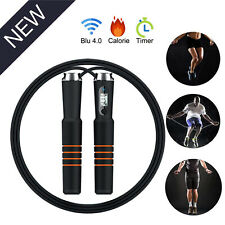 Smart Bluetooth 4.0 Jump Rope Speed Counting Calorie Skipping Rope For Android