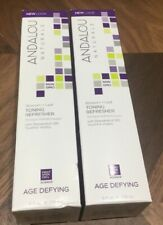 lot of 2 Andalou Naturals Blossom & Leaf Age Defying Toning Refresher 6oz 178ml