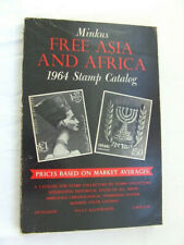 Minkus Free Asia & Africa Stamp Catalogue 1964
