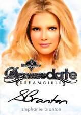 Stephanie Branton 2017 Bench Warmer Dreamgirls Dream Date Auto Silver Foil