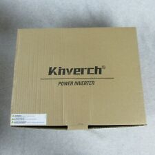 Kinverch 2000W Continuous/ 4000W Peak Power Inverter 3 AC Outlets 12V to 110V