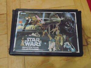 Star Wars Kenner Mini Action Figure Collection Case Vintage