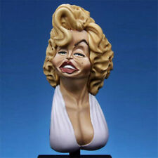 1/10 Unpainted Sexy Female Resin Bust Model Kits GK Unassembled