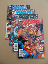 Superman : War Of The Supermen 1 - 4 . DC 2010 . VF / VF +