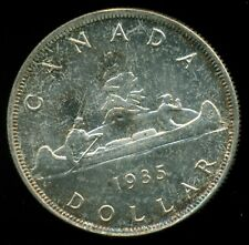 1935 Canada King George V Silver Dollar ICCS MS-65 Certified