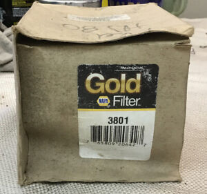 3801 Napa Gold Fuel Filter NOS (s1)
