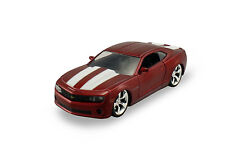 "Jada  Muscle 2010 Chevy Camaro SS 1:32 scale 5.25"" diecast model Burgundy J119"