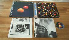 Alas Venus y a Marte Lp Reino Unido con carteles calcomanías de The Beatles Mccartney Interior