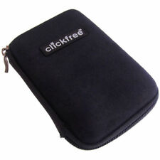 "Clickfree ZIP025B Hard Shell Zippered Protective Case for 2.5"" External HDD"