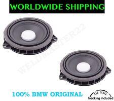 Bmw 1 F20 F21 3 F30 F31 Front Door Harman Kardon Mid Range Speaker Pair Genuine