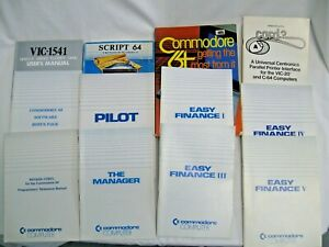 Lot of 12 Commodore 64 Manuals Books -  Programmers Reference Manual