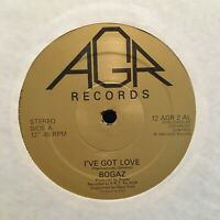 "ULTRA RARE Bogaz: I've Got Love 12"" VINYL Single 45rpm Dance/Disco 12AGR2 1983"