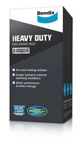 Bendix Front Heavy Duty Brake Pads DB1277HD (DB1277) suits LANCER CC, CE, MIRAGE