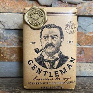 CST Men's Luxury Bar Soap-Gentleman- Bourbon Cedar-XL 9 oz