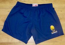 """WORCESTER WARRIORS-Embroidered-Sports/Gym/ Shorts-Performance Fabric-NAVY-36"""""""