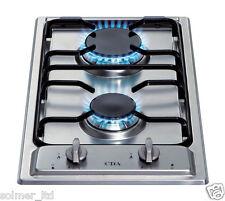 CDA HCG301 dos Quemador Domino Cocina A Gas En Acero Inoxidable - 11349