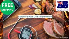 BBQ Matador Smart Meat Thermometer Remote monitor Free App LED 30 ~ 300 degrees