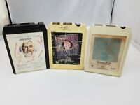 Kenny Rogers 8 Track Tapes Set of 3 Ruby, 20 Greatest Hits, First Edition Hits