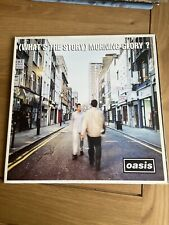 oasis whats the story morning glory vinyl  (1995)