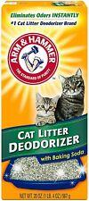 New Arm & Hammer Cat Litter Deodorizer With Baking Soda 20 Fl Oz