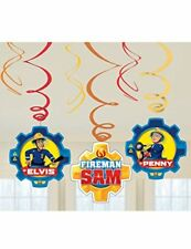 Amscan International – 9902183 bombero Sam Swirl kit de Decoración