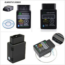 Mini Wireless Bluetooth OBD2 OBDII ELM327 Autos Diagnostic Scanner Adapter Tool