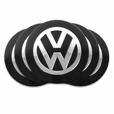4x 56mm Wheel Center Caps Rim Hub Cap Emblem Logo For VW Volkswagen Passat Jetta