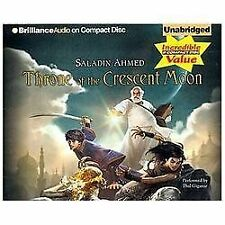 Throne of the Crescent Moon by Saladin Ahmed (2012, CD, Unabridged)