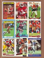 25 DIFF. Jerry Rice 1987-1996 cards with INSERTS - San Francisco 49ers