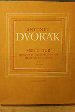 Antonin Dvorak Supraphon Mass in D Major Kyrie choir and orchestra 145 pages New
