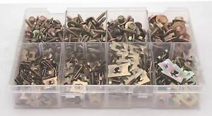 A01860 ASSORTED BOX SHEET METAL ACME SCREWS & J NUTS SIZES NO.8 TO 14 QTY 400