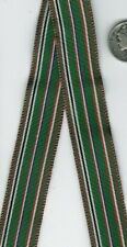 MINIATURE US WWII European North Africa Service Medal RIBBON German France Italy