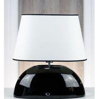 Cerámica Lámpara de Mesa Ovalado Taburete Jonas Tela Hockerlampe