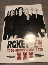 Roxette XXX Anniversary Tour Poster - Per Gessle Marie Fredriksson