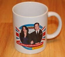 Prince William & Catherine Middleton Coffee Cup Mug White April 29 2011